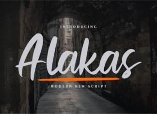 Alakas Font