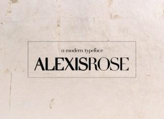 Alexis Rose Font