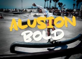 Alusion Bold Font