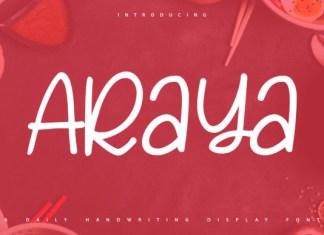 Araya Font