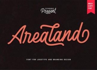 Arealand Font