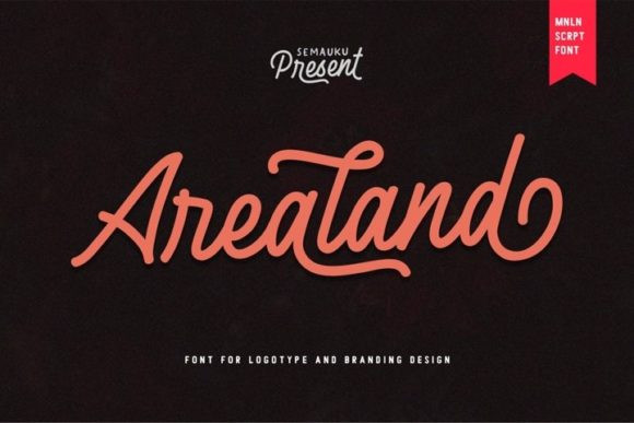 Arealand Font