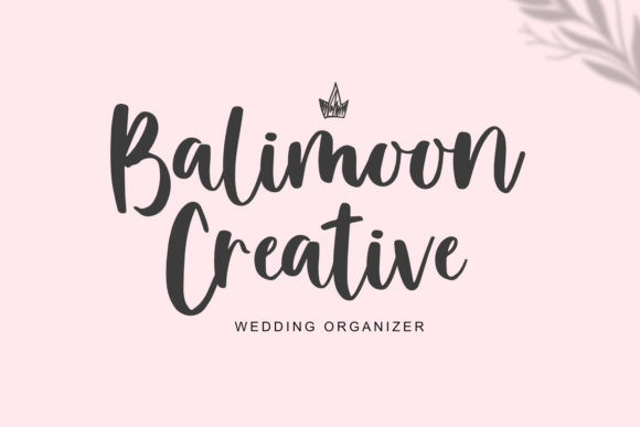 Balimoon Font