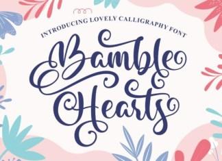 Bamble Hearts Font