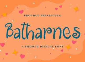 Batharnes Font