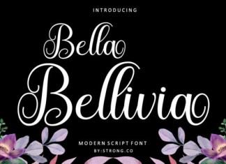 Bella Bellivia Font