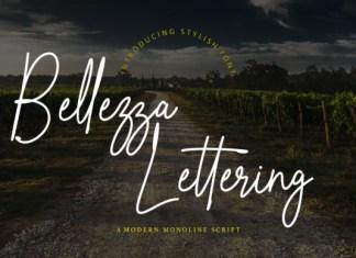 Bellezza Lettering Font