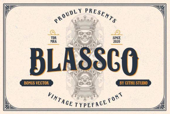 Blassco Font