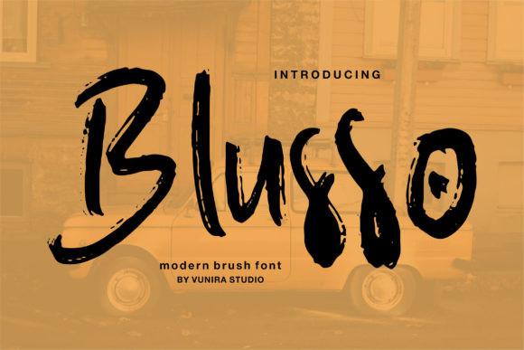 Blusso Font