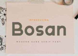 Bosan Font