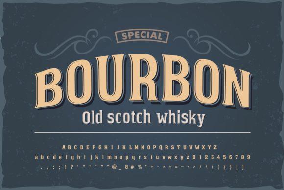 Bourbon Font