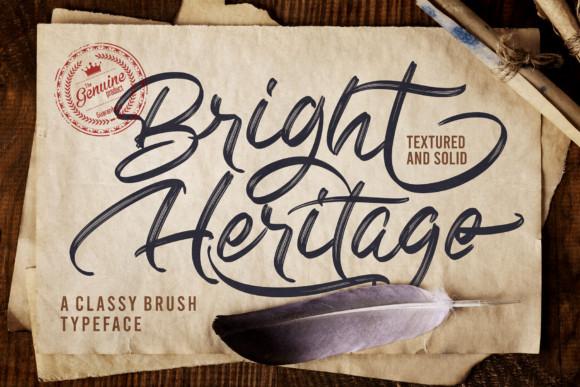 Bright Heritage Font