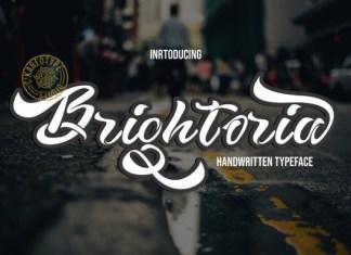 Brightoria Font
