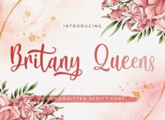 Britany Queens Font