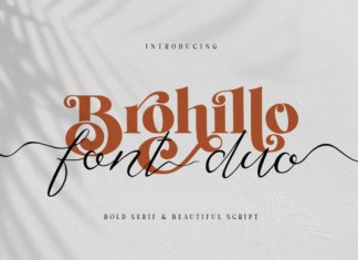 Brohillo Font