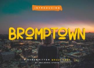Bromptown Font