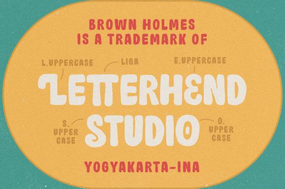 Brown Holmes Font