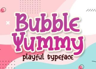 Bubble Yummy Font