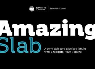 Amazing Slab Font