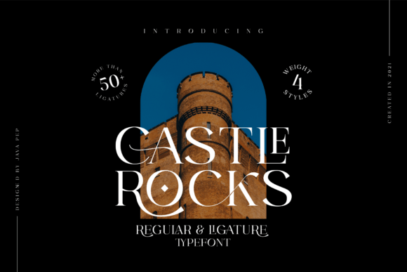 Castle Rocks Font