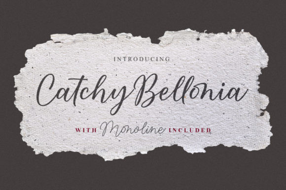 Catchy Bellonia Font