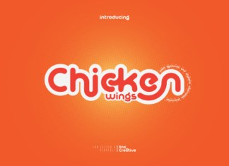 Chicken Wings Font