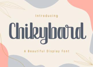 Chikybard Font