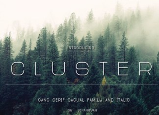 Cluster Font