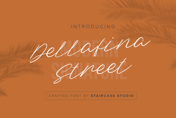 Dellafina Street Font
