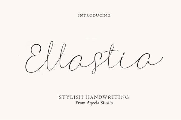 Ellastia Font