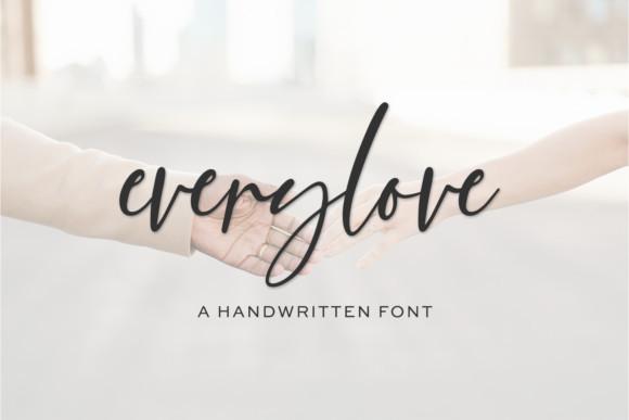 Everylove Font