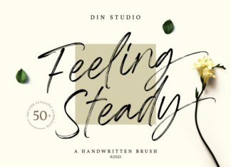 Feeling Steady Font