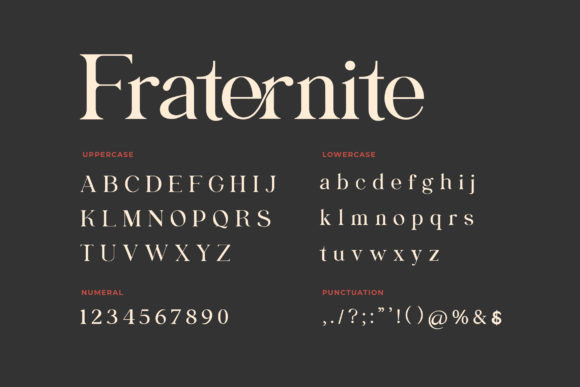 Fraternite Font