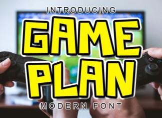 Game Plan Font