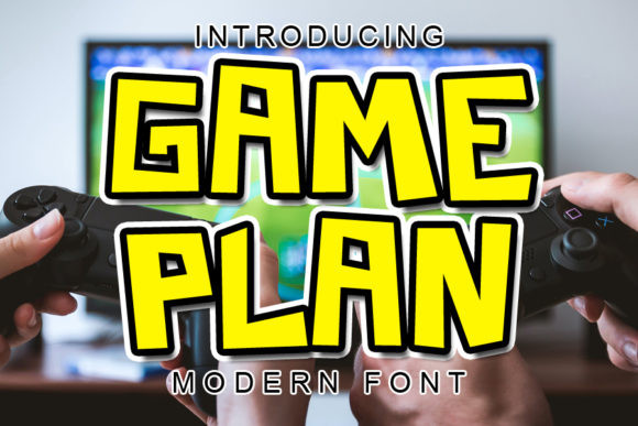 Game Plan Font