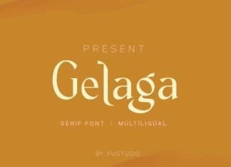 Gelaga Font