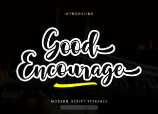 Good Encourage Font