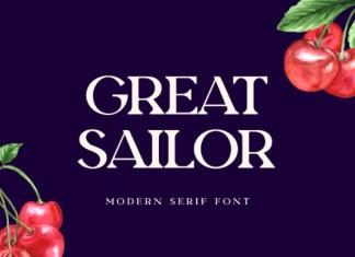 Great Sailor Font