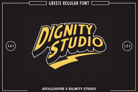 Greece Font