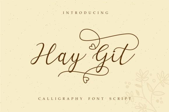Hay Git Font
