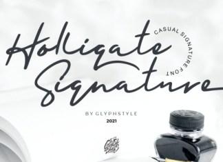 Holligate Font