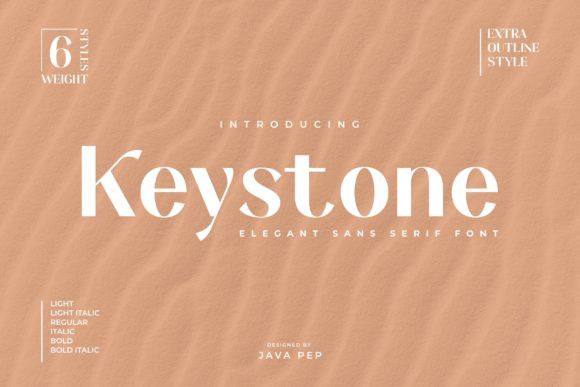 Keystone Font