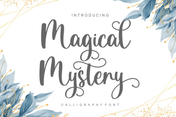Magical Mystery Font