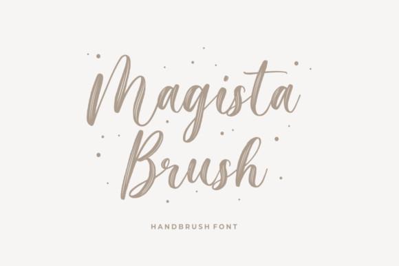 Magista Brush Font