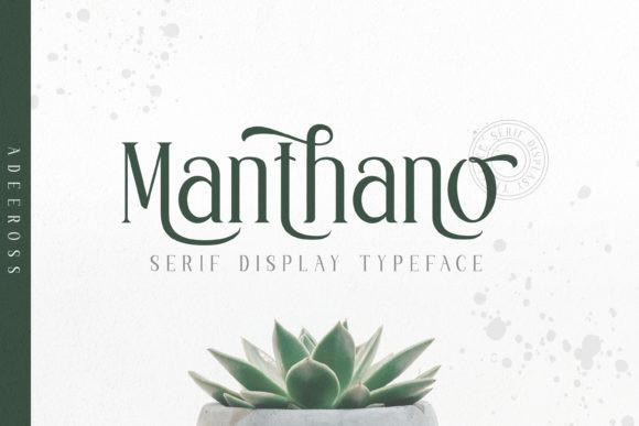 Manthano Font