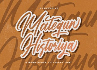 Matequn Historiya Font