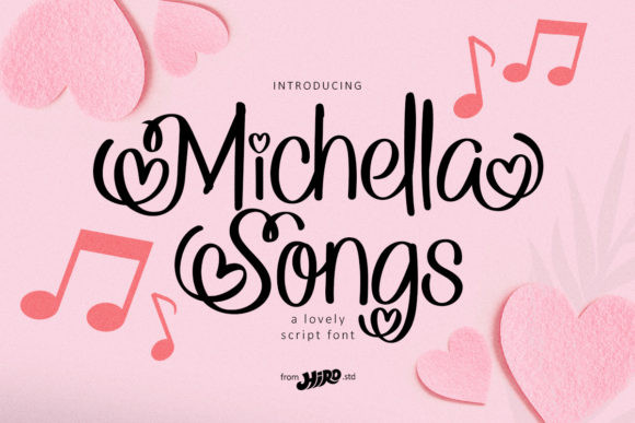 Michella Songs Font