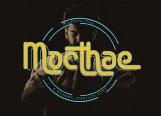 Mocthae Font