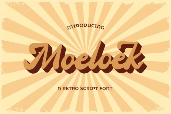 Moeloek Font