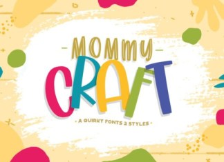 Mommy Crafts  Font